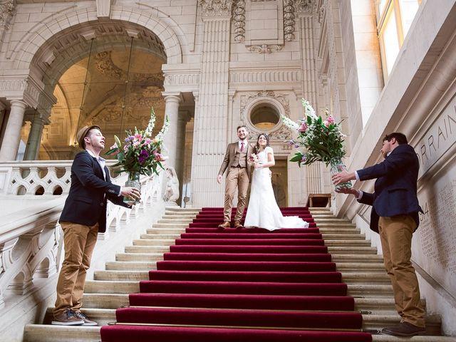 Le mariage de Thomas et Clémence à Tours, Indre-et-Loire 25