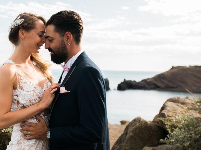 Le mariage de Romain et Morgane à Le Cap d'Agde, Hérault 59