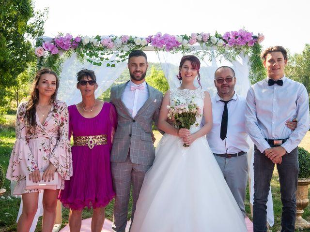 Le mariage de Thibaud et Gladice à Savas, Ardèche 45
