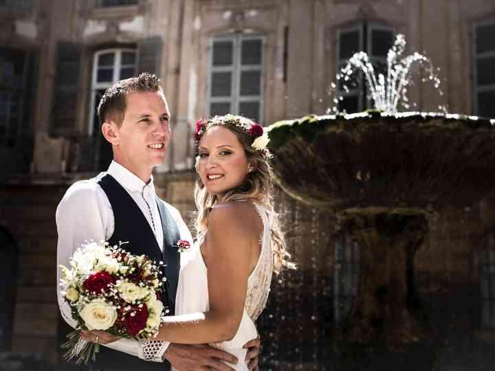 Le mariage de Elodie et Clément