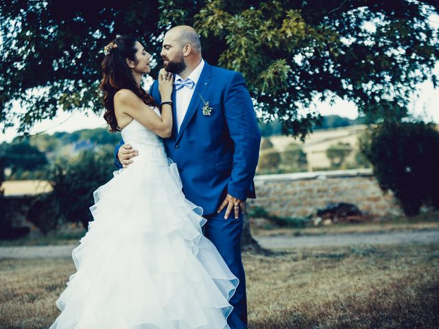 Le mariage de Bill et Eléonore à Charrin, Nièvre 2