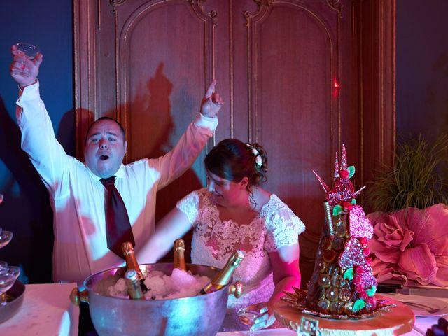 Le mariage de Denis et Ophélie à Saint-Pierre-du-Vauvray, Eure 74