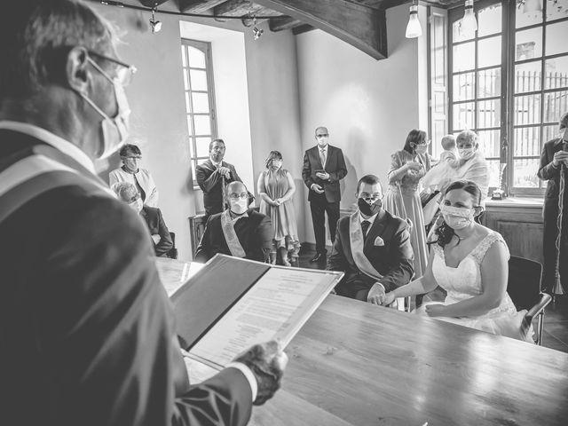 Le mariage de Jacques et Lucie à Bazoches-sur-Hoëne, Orne 3