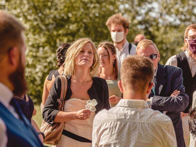 Le mariage de Jacques et Lucie à Bazoches-sur-Hoëne, Orne 20