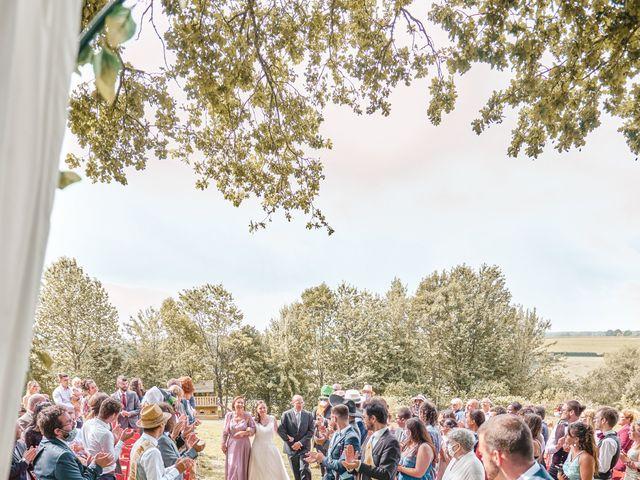 Le mariage de Jacques et Lucie à Bazoches-sur-Hoëne, Orne 27