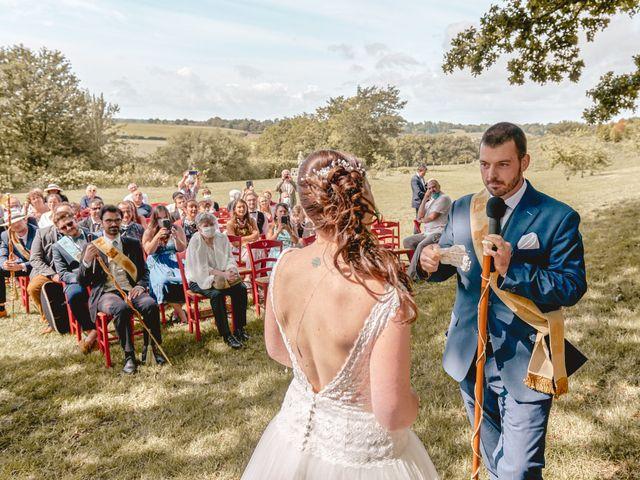 Le mariage de Jacques et Lucie à Bazoches-sur-Hoëne, Orne 35