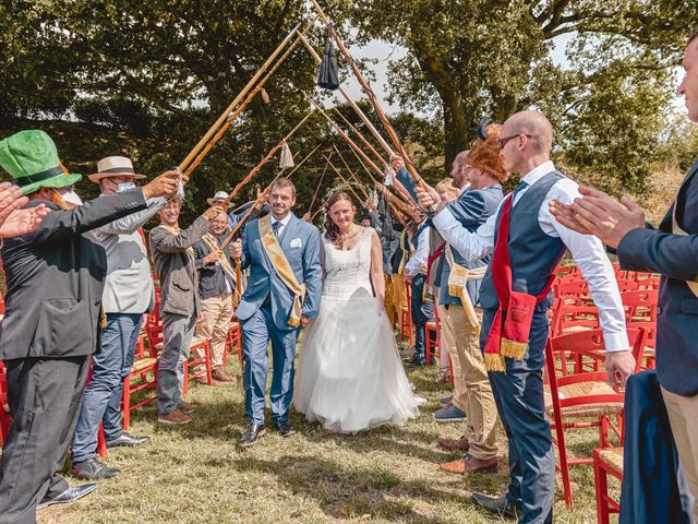 Le mariage de Jacques et Lucie à Bazoches-sur-Hoëne, Orne 36