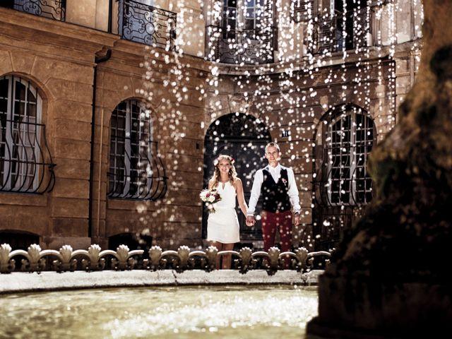 Le mariage de Clément et Elodie à Puyricard, Bouches-du-Rhône 7
