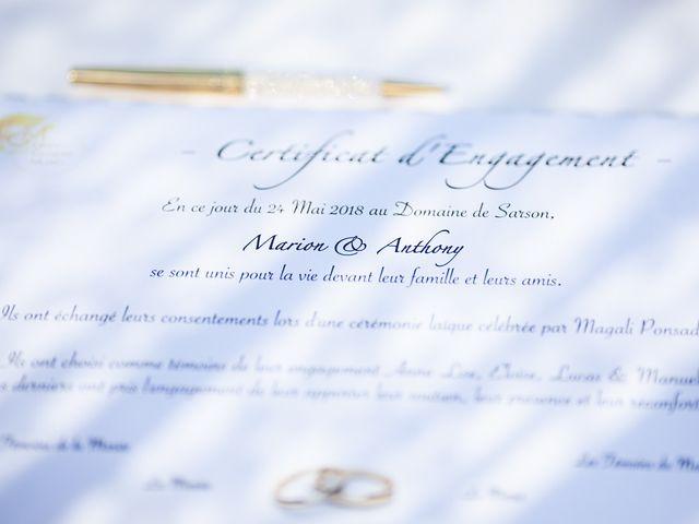 Le mariage de Anthony et Marion à Grignan, Drôme 53
