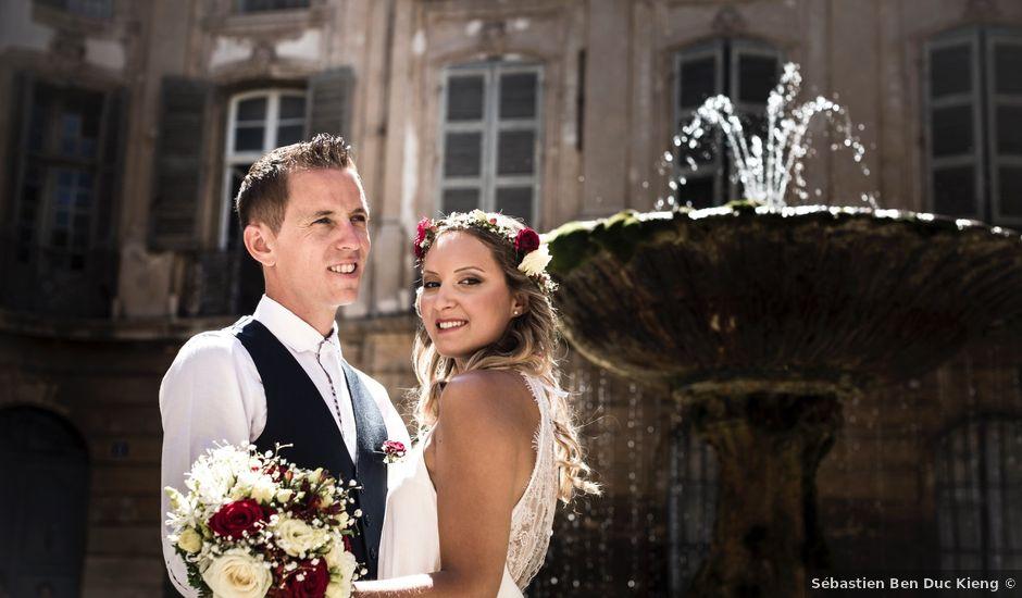 Le mariage de Clément et Elodie à Puyricard, Bouches-du-Rhône