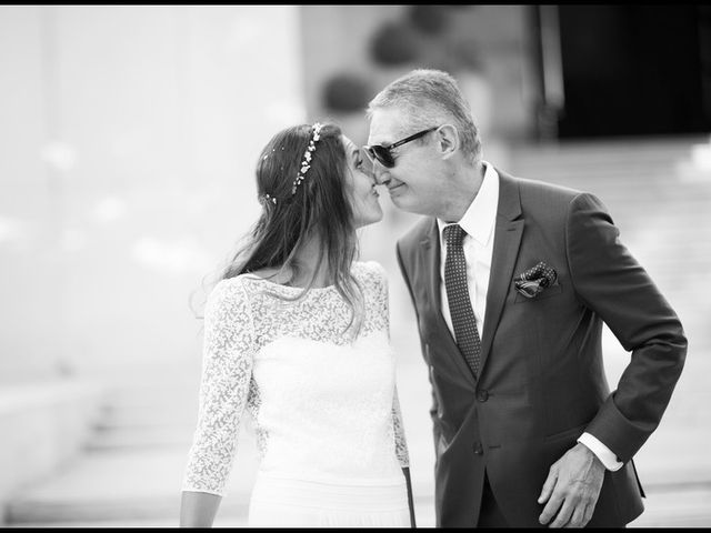 Le mariage de Mr K et Mrs M à Paris, Paris 7