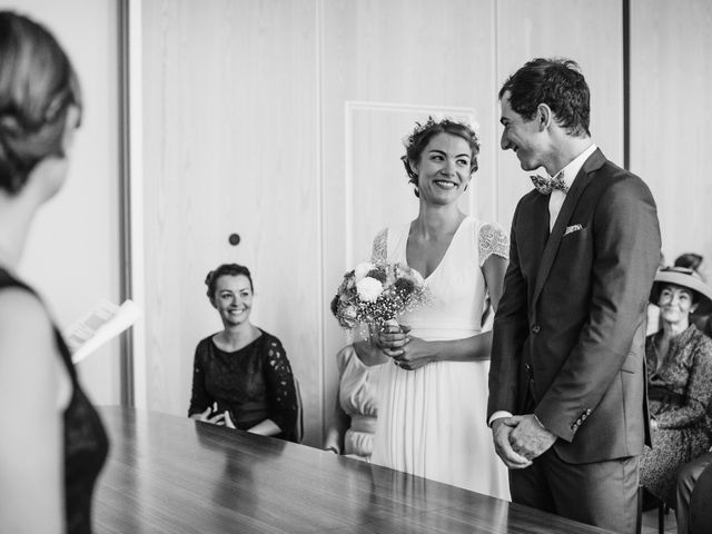 Le mariage de Florian et Valentine à Saint-Vérand, Rhône 10