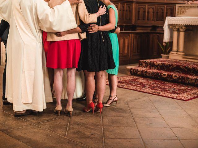 Le mariage de Florian et Valentine à Saint-Vérand, Rhône 17
