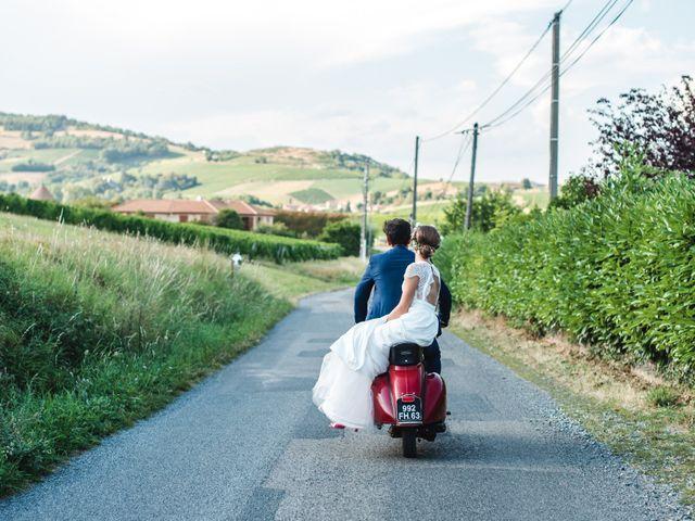 Le mariage de Florian et Valentine à Saint-Vérand, Rhône 19