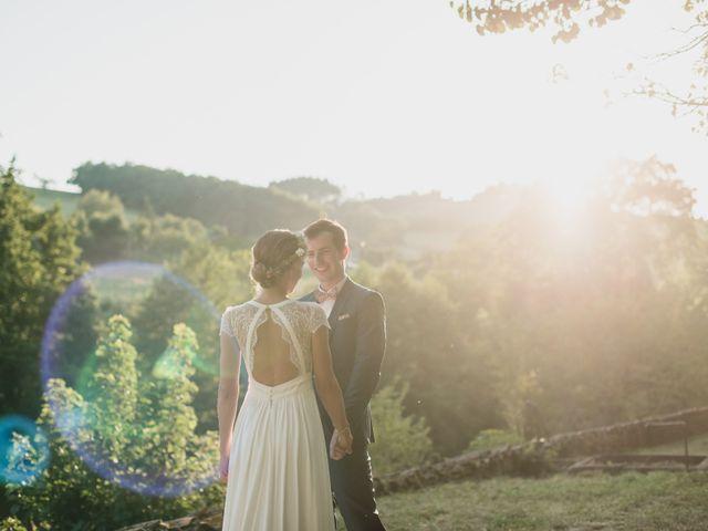 Le mariage de Florian et Valentine à Saint-Vérand, Rhône 26