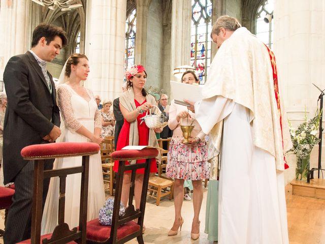 Le mariage de Grégoire et Ombline à Gisors, Eure 16