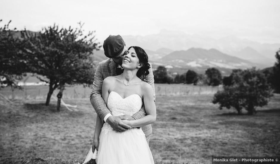Le mariage de Jordi et Margaux à Roissard, Isère