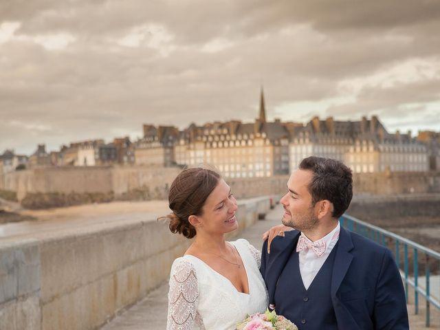Le mariage de Antoine et Marina à Miniac-Morvan, Ille et Vilaine 4