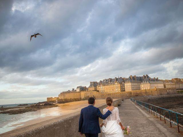 Le mariage de Antoine et Marina à Miniac-Morvan, Ille et Vilaine 1