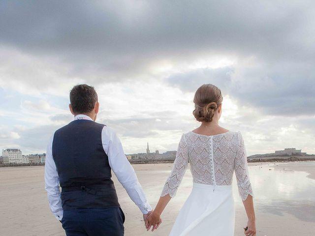 Le mariage de Antoine et Marina à Miniac-Morvan, Ille et Vilaine 10