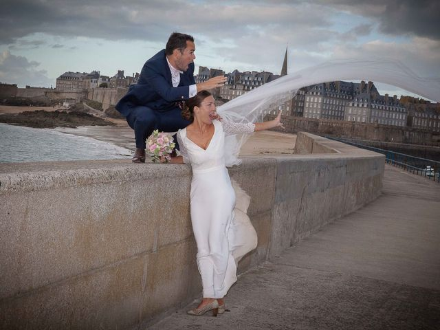 Le mariage de Antoine et Marina à Miniac-Morvan, Ille et Vilaine 2