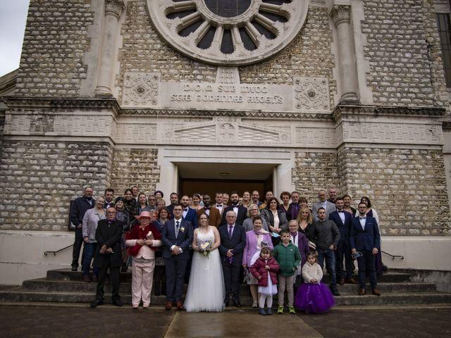 Le mariage de Aurélie et Maxime à Vaires-sur-Marne, Seine-et-Marne 34