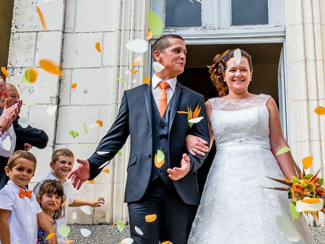Le mariage de Cedric et Severine à Charroux, Vienne 26