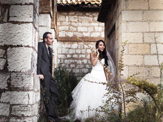 Le mariage de Olivier et Vanthy à Saint-Zacharie, Var 9