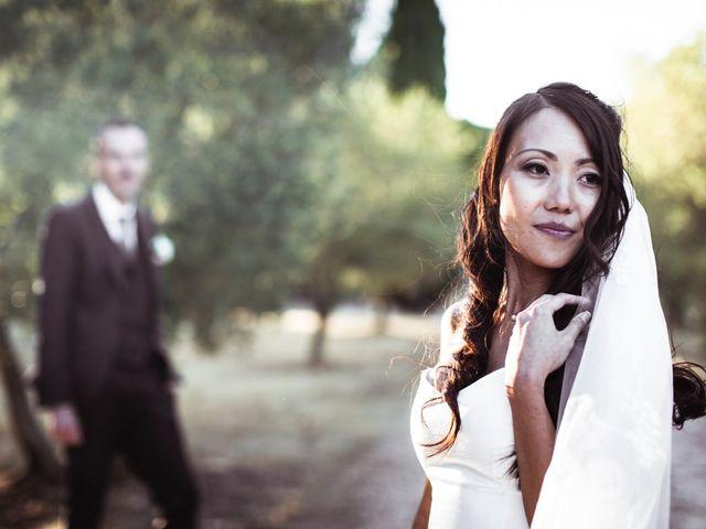 Le mariage de Olivier et Vanthy à Saint-Zacharie, Var 1