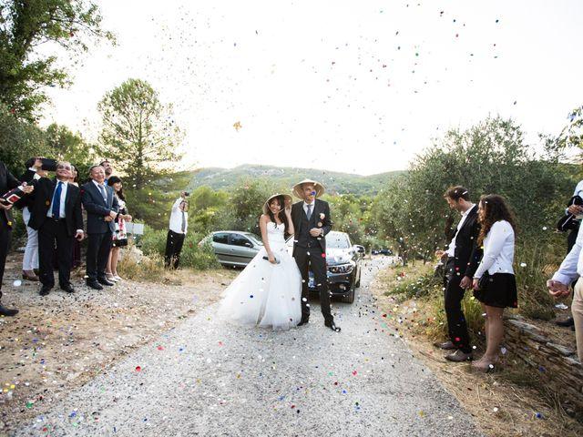 Le mariage de Olivier et Vanthy à Saint-Zacharie, Var 20