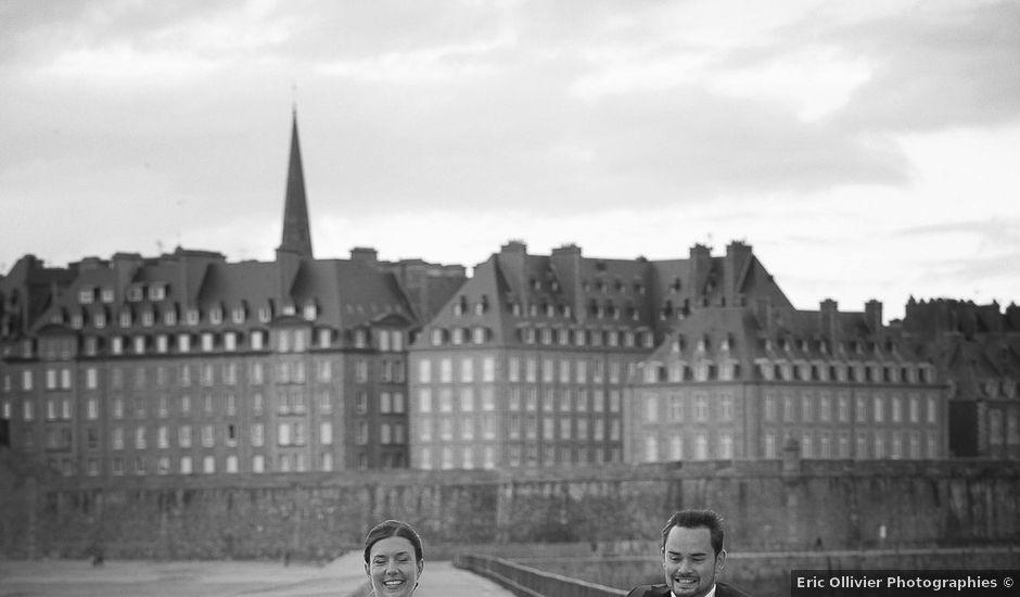 Le mariage de Antoine et Marina à Miniac-Morvan, Ille et Vilaine