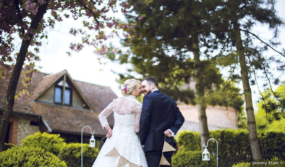 Le mariage de Thibault et Aurélie à Saint Léger en Bray, Oise