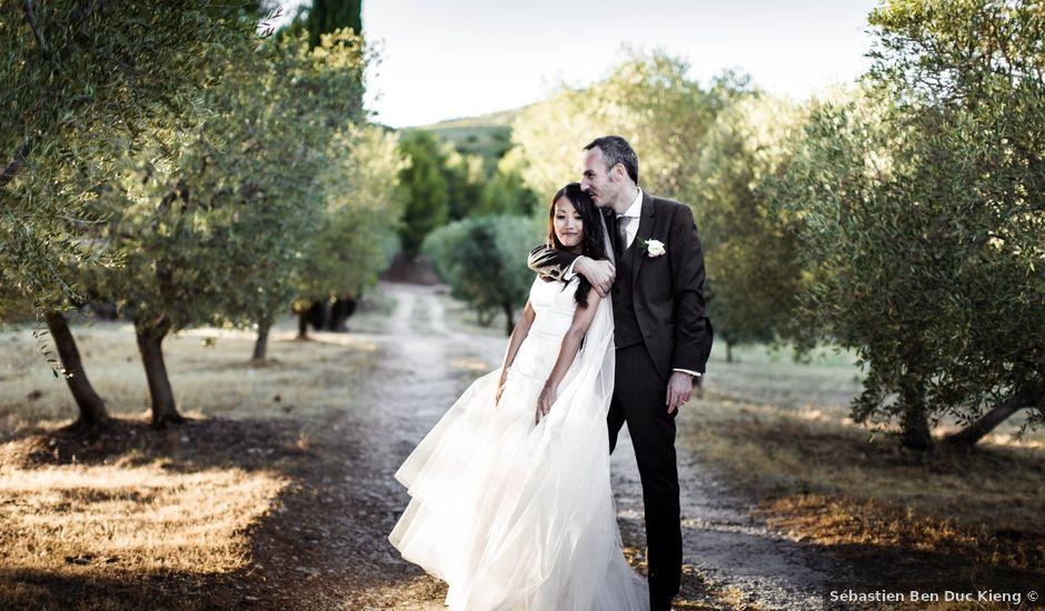 Le mariage de Olivier et Vanthy à Saint-Zacharie, Var