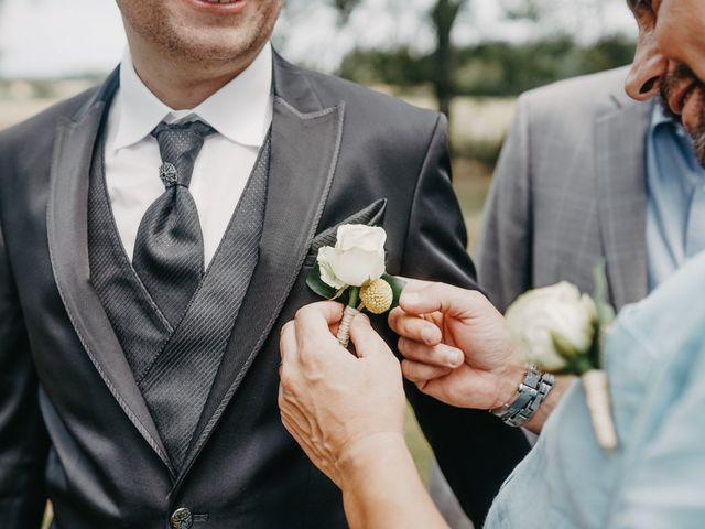 Le mariage de Maxime et Virginie à Curciat-Dongalon, Ain 5