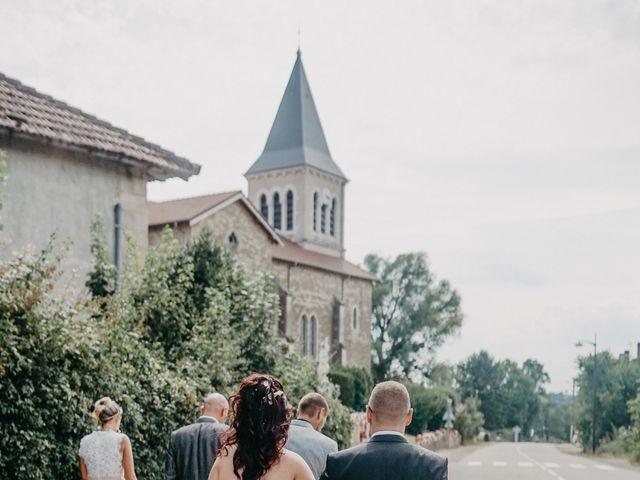 Le mariage de Maxime et Virginie à Curciat-Dongalon, Ain 8