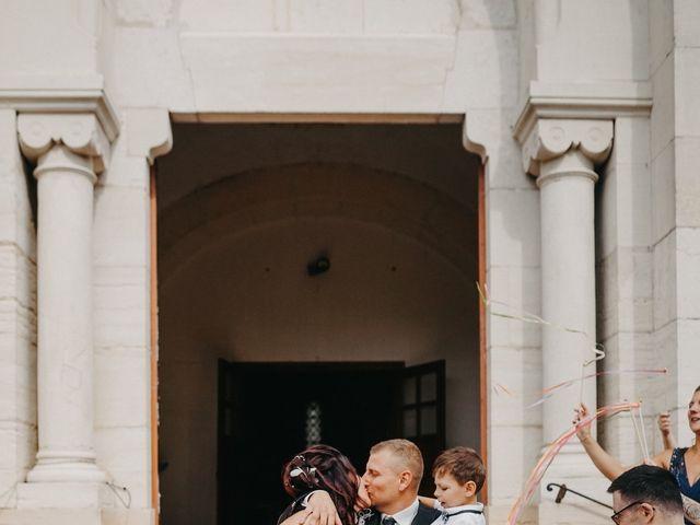 Le mariage de Maxime et Virginie à Curciat-Dongalon, Ain 16