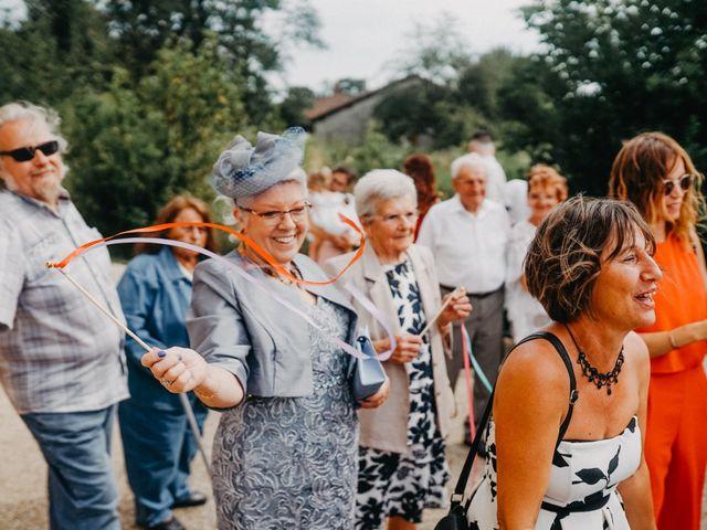 Le mariage de Maxime et Virginie à Curciat-Dongalon, Ain 17