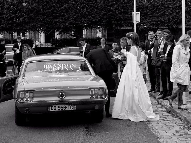 Le mariage de Brandon et Célina à Paray-Douaville, Yvelines 35