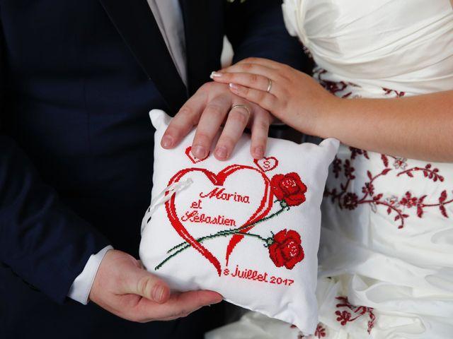 Le mariage de Sebastien et Marina à Meaux, Seine-et-Marne 75