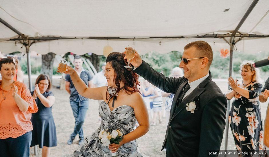 Le mariage de Maxime et Virginie à Curciat-Dongalon, Ain