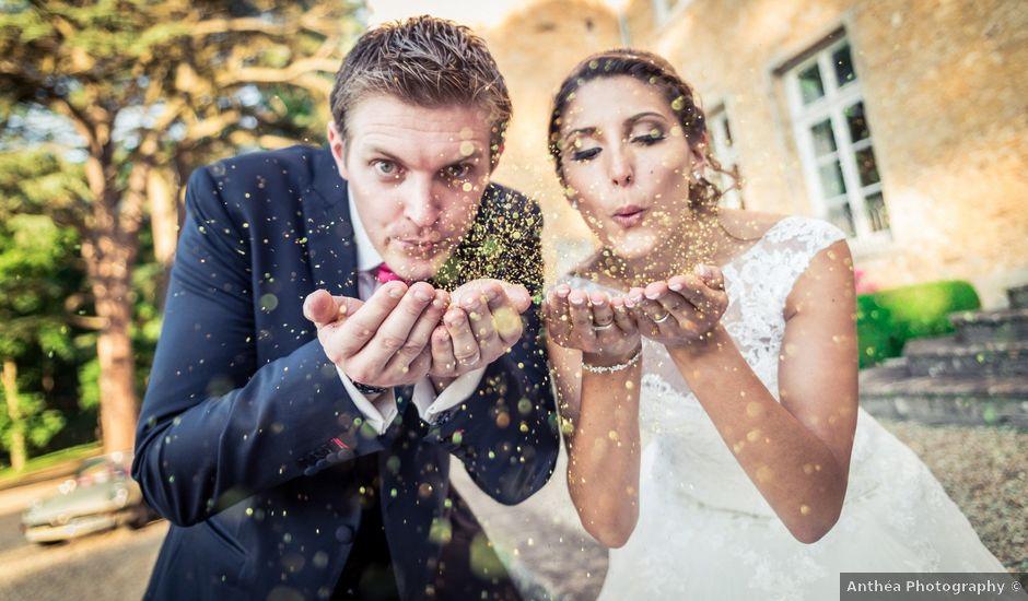 Le mariage de William et Elodie à Saint-Priest, Rhône
