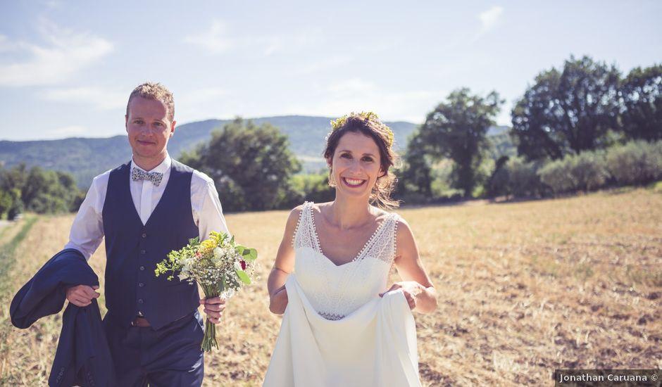 Le mariage de Jérôme et Emmanuelle à Nyons, Drôme