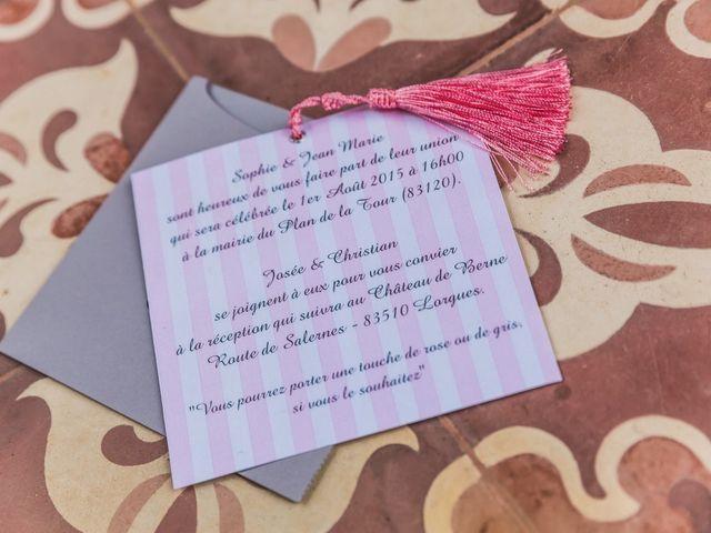 Le mariage de Jean-Marie et Sophie à Plan-de-la-Tour, Var 7