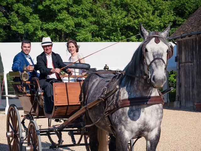 Le mariage de Walid et Laura à Choué, Loir-et-Cher 11