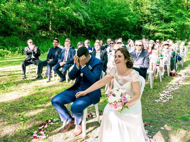 Le mariage de Walid et Laura à Choué, Loir-et-Cher 14