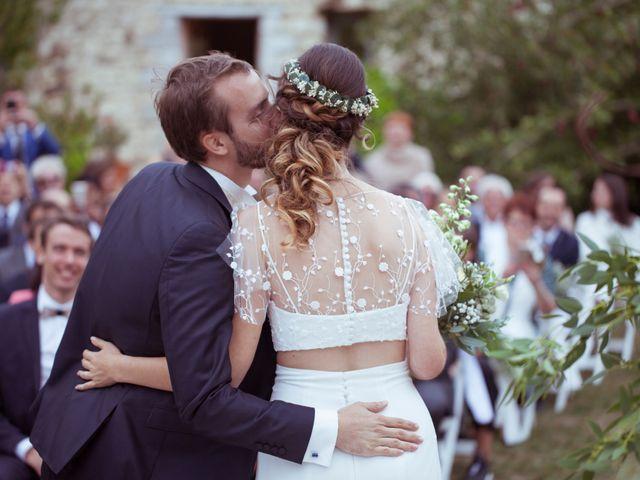 Le mariage de Julien et Agathe à Cussay, Indre-et-Loire 2