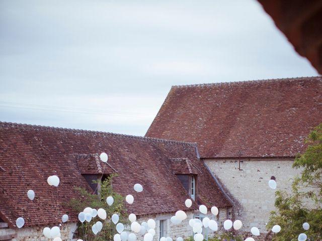 Le mariage de Julien et Agathe à Cussay, Indre-et-Loire 5