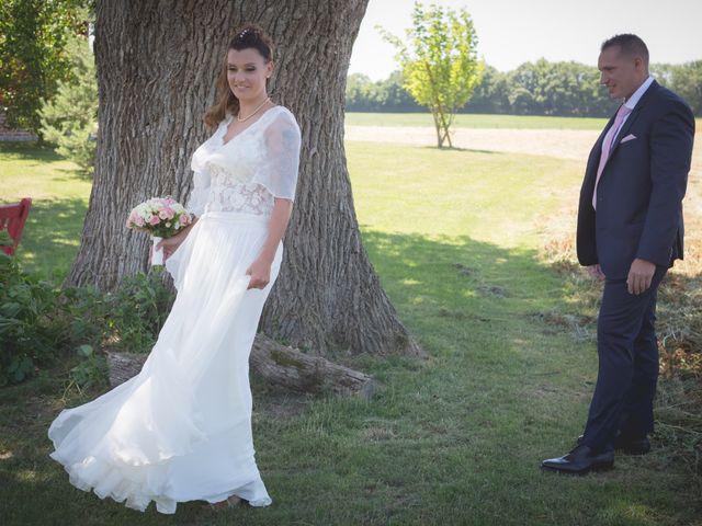 Le mariage de David et Anne Phalene à Vonnas, Ain 5