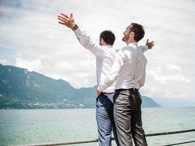 Le mariage de Julien et Zuzanna à Aix-les-Bains, Savoie 24