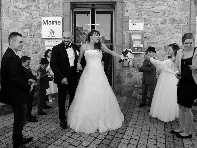Le mariage de Davide et Jennifer à Les Pieux, Manche 13